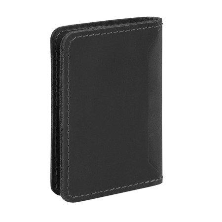 Skórzany cienki portfel, etui na karty PM-07/CH